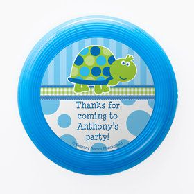 First Birthday Turtle Personalized Mini Discs (Set of 12)