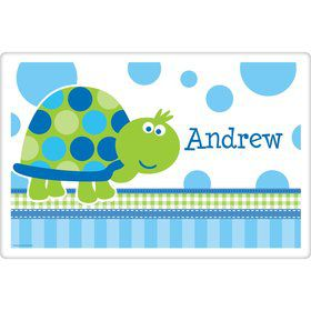 First Birthday Turtle Personalized Placemat (each)