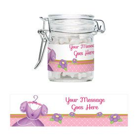 First Princess Personalized Glass Apothecary Jars (12 Count)