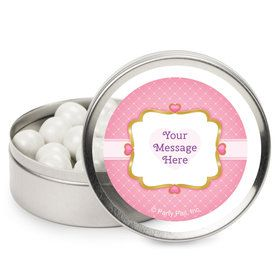 First Princess Personalized Mint Tins (12 Pack)