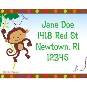 Fisher Price Baby Personalized Address Labels (Sheet of 15)