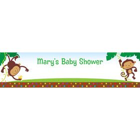 Fisher Price Baby Personalized Banner (Each)