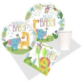 Fisher Price Hello Baby Shower Lunch Party Pack for 8