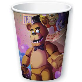 Five Nights at Freddy's 9oz Cups (8 Pack)
