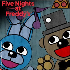 Five Nights at Freddy's Beverage Napkins (16 Pack)