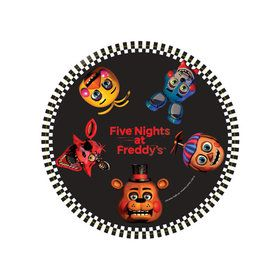 Five Nights at Freddy's Dessert Plates