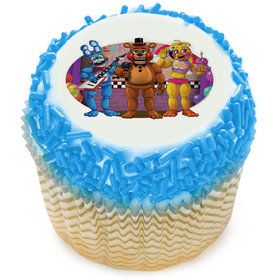 Five Nights At Freddys Edible Cupcake Topper (12 Images)