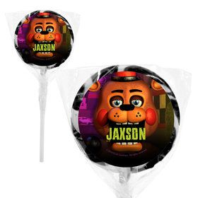 "Five Nights at Freddy's Personalized 2"" Lollipops (20 Pack)"