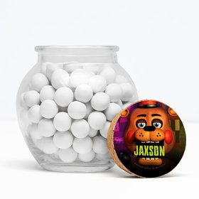 "Five Nights at Freddy's Personalized 3"" Glass Sphere Jars (Set of 12)"