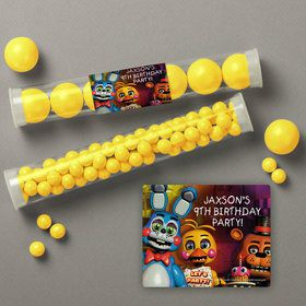 Five Nights at Freddy's Personalized Candy Tubes (12 Count)