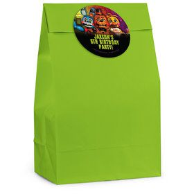 Five Nights at Freddy's Personalized Favor Bag (12 Pack)