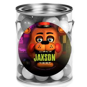Five Nights at Freddy's Personalized Mini Paint Cans (12 Count)