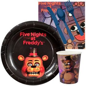 Five Nights at Freddy's Standard Tableware Kit (Serves 8)