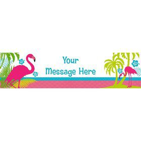 Flamingo Personalized Banner (Each)