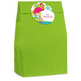 Flamingo Personalized Favor Bag (12 Pack)