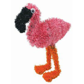 Flamingo Tinsel Decoration