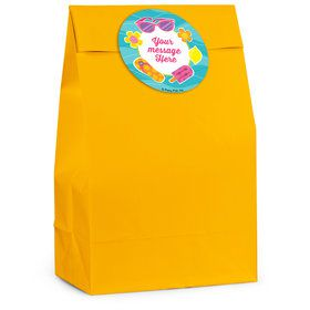 Flip Flop Fun Personalized Favor Bag (12 Pack)