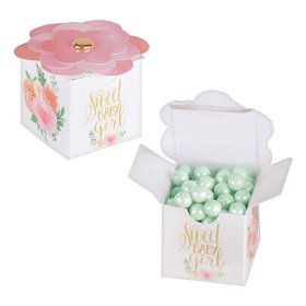 Floral Baby Favor Boxes (8)