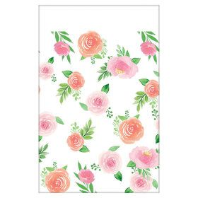 Floral Baby Paper Table Cover (1)