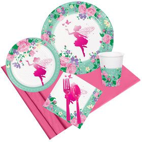 Floral Fairy Party Pack (8 Count)