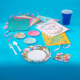 Floral Fiesta 36 Guest Party Pack