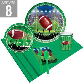 Football Party Pack Pack For 8