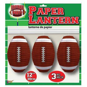 Football Party Paper Lanterns (3)