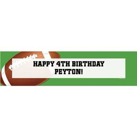 Football Party Personalized Banner (each)