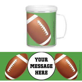 Football Party Personalized Favor Mugs (Each)