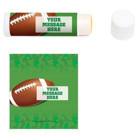 Football Party Personalized Lip Balm (12 Pack)