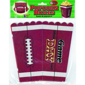 Football Party Popcorn Containers (6)