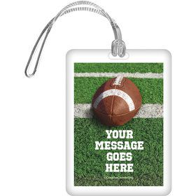 Football Personalized Bag Tag (Each)