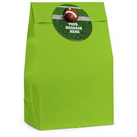Football Personalized Favor Bag (12 Pack)