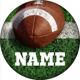 Football Personalized Mini Magnet (Each)