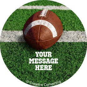 Football Personalized Mini Stickers (Sheet of 24)