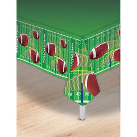 Football Plastic Tablecover (1)