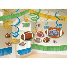 Football Room Decorating Kit