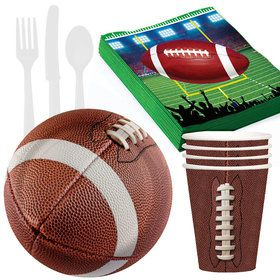 Football Tailgate Party Pack for 24