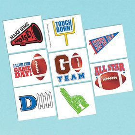 Football Tattoo Sheet (1)