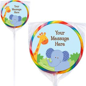 Forest Friends Personalized Lollipops (12 Pack)