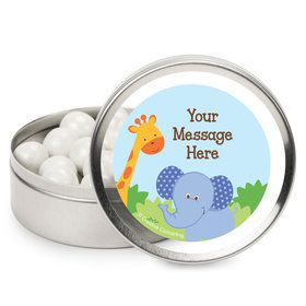 Forest Friends Personalized Mint Tins (12 Pack)