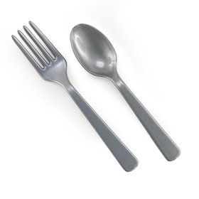 Forks Spoons - Silver