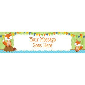 Fox Personalized Banner (Each)