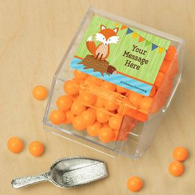 Fox Personalized Candy Bin with Candy Scoop (10 Count)
