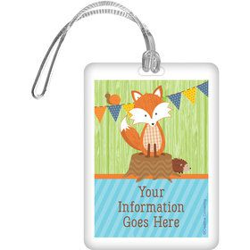 Fox Personalized Luggage Tag (Each)
