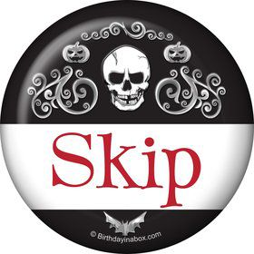 Fright Night Personalized Button (Each)
