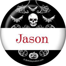 Fright Night Personalized Mini Button (Each)