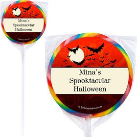 Frightful Personalized Lollipops (12 Pack)