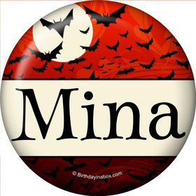 Frightful Personalized Mini Magnet (Each)