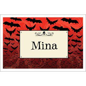 Frightful Personalized Placemat (Each)